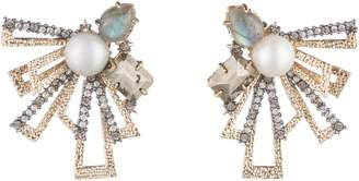 Alexis Bittar Brutalist Stud Earrings