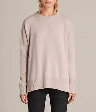 AllSaints Dasha Cashmere Crew Sweater