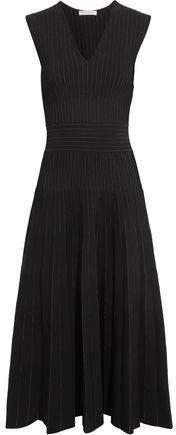 Barbara Casasola Paneled Stretch-Knit Dress
