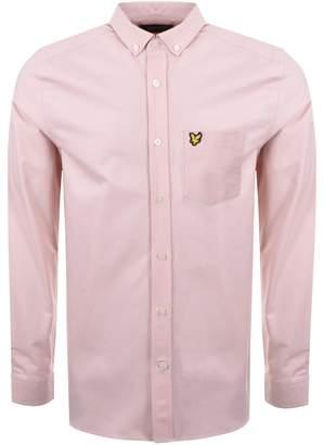 Lyle & Scott Oxford Shirt Pink