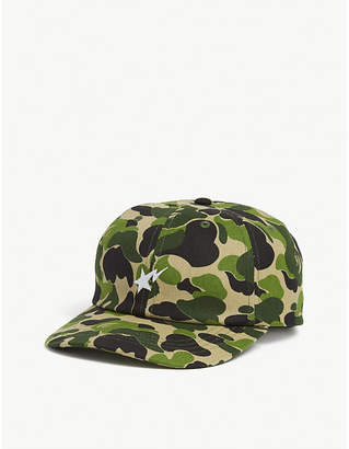 A Bathing Ape Bapestar canvas baseball cap