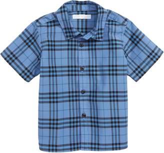 Burberry Sammi Plaid Woven Shirt