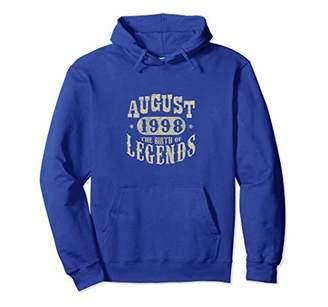 20 Years 20th Birthday August 1998 Birth of Legend Hoodies