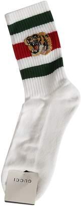 Gucci Tiger Motif Socks