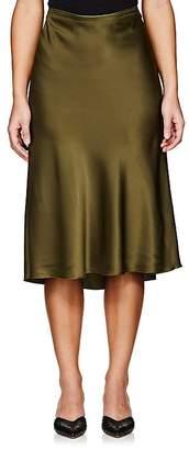 Nili Lotan Women's Ara Silk Charmeuse Skirt