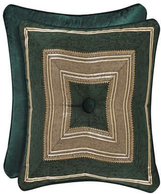 "J Queen New York Emerald Isle 18"" Square Decorative Pillow"