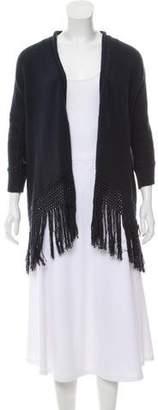 Calypso Fringe Knit Cardigan