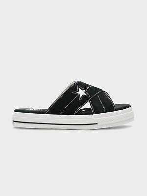 Converse New Con One Star Sandal Black Whit 6