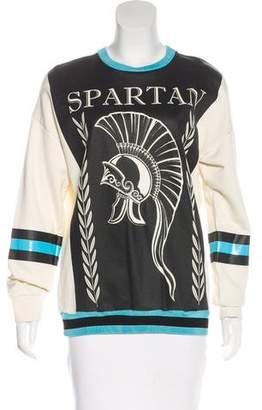 Fausto Puglisi Graphic Oversize Sweatshirt