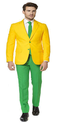 Opposuits Green and Gold Men's Suit
