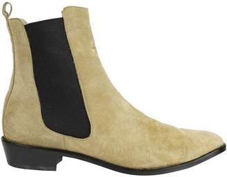 Modern Vice Beige Suede Ankle boots