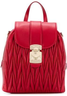 Miu Miu quilted backpack