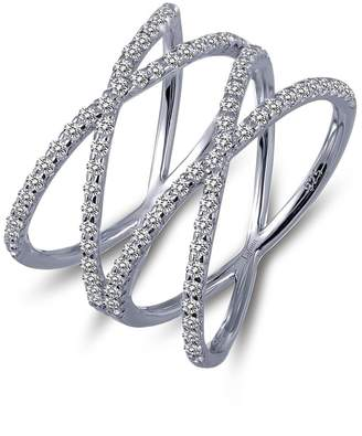 Lafonn Double Crisscross Ring