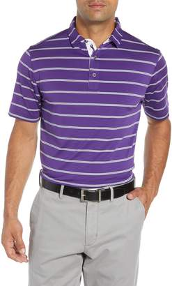 Bobby Jones Ferry Stripe Classic Fit Golf Polo