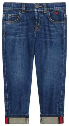 Gucci Cuffed Jeans