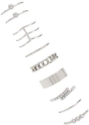 Forever 21 Assorted Midi Ring Set