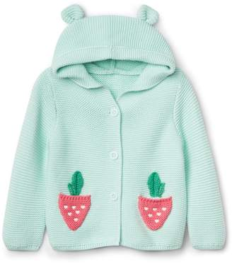 Gap Berry Garter Hoodie Sweater