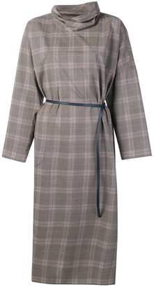 Sofie D'hoore checked belted dress