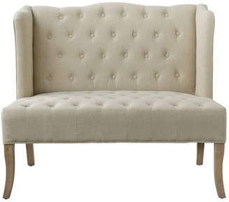 A&B Home Tufted Upholstered Loveseat