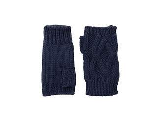 San Diego Hat Company KNG3495 Cable Knit Fingerless Gloves