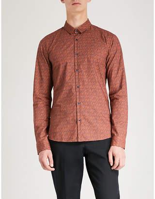 HUGO Extra slim-fit cotton shirt