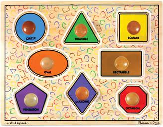 Melissa & Doug Kids Toy, Large Shapes Jumbo Knob Puzzle