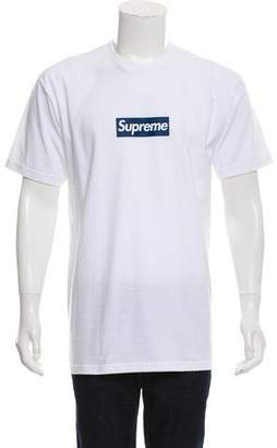 Supreme NY Yankees Box Logo T-Shirt