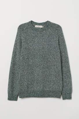 H&M Cotton-blend Sweater - Green