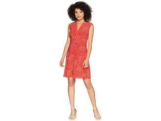 Anne Klein Twist Front Knit Dress Women's Dress