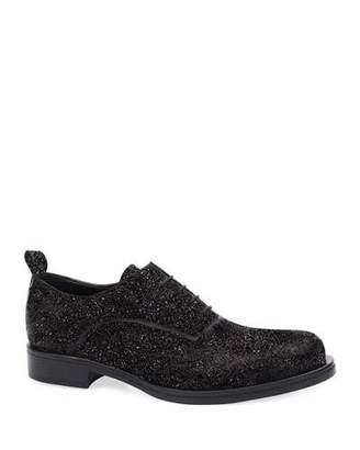 CNC Costume National Men's Glitter Oxford Shoes