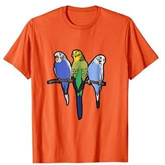 Budgie Budgerigar Cockatoo Cockatiel Shirt Womens Mens Kids