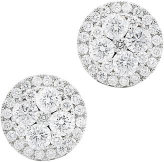 Diana M Fine Jewelry 14K 1.66 Ct. Tw. Diamond Earrings