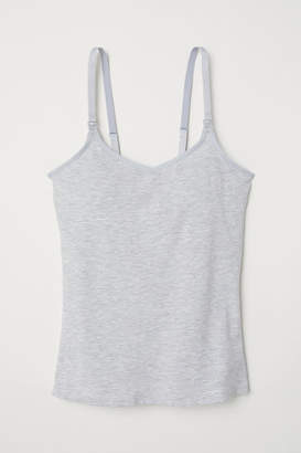 H&M MAMA Camisole with Shelf Bra - Gray