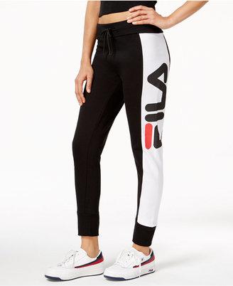 Fila Forli Logo Jogger Pants $66 thestylecure.com