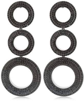 Grommets Dangling Earrings