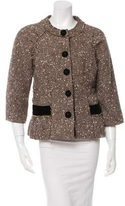 Marc Jacobs Wool & Alpaca-Blend Bouclé Jacket w/ Tags