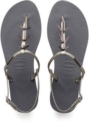 72cdc88b9 Havaianas Grey Thong Sandals For Women - ShopStyle Australia