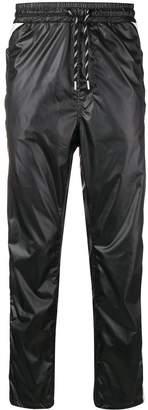 Just Cavalli plastic-effect trousers