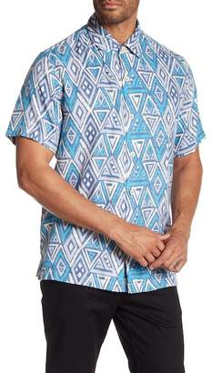 Tommy Bahama Graphic Printed Short Sleeve Shirt