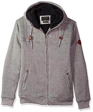 Quiksilver Men's New Cypress Snap Full Zip Sweatshirt