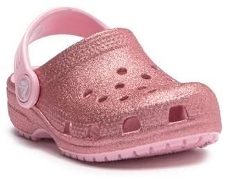 Crocs Classic Glitter Clog (Toddler & Little Kid)