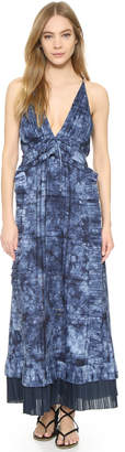 Thakoon Ruffle Front Long Dress