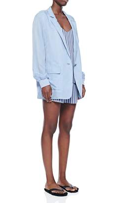 Tibi Viscose Twill Shorts