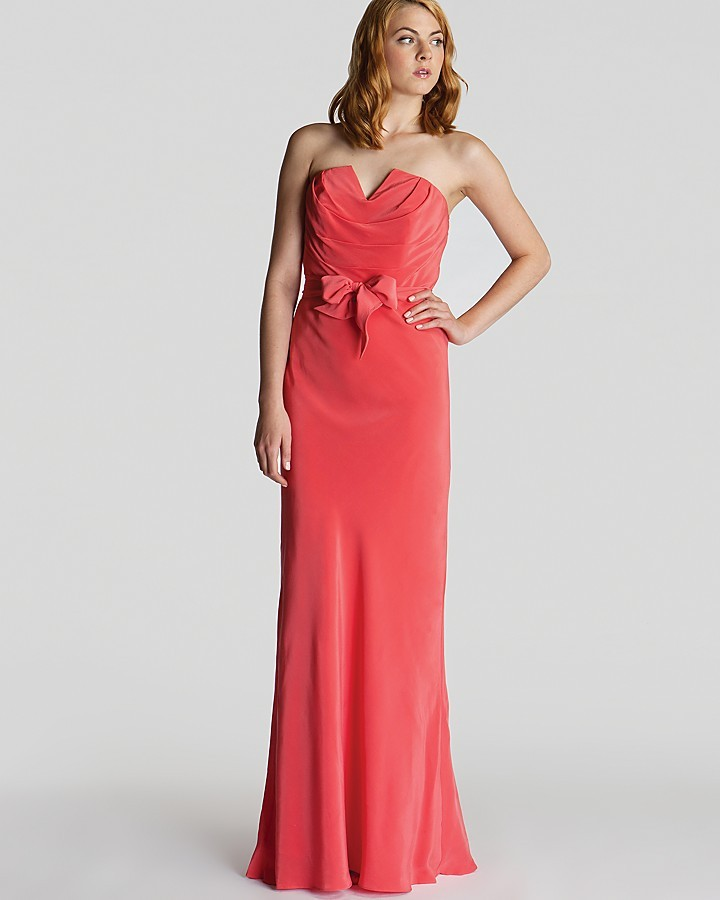 Ted Baker Dress - Cassii Strapless Maxi