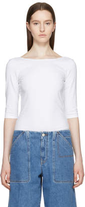 Acne Studios White Dajna T-Shirt