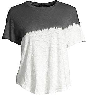 ATM Anthony Thomas Melillo Women's Jersey Dip-Dye Tee