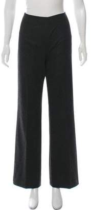 Valentino High-Rise Wool Pants