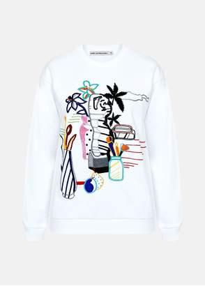 Mary Katrantzou Saker Sweatshirt Pop Art