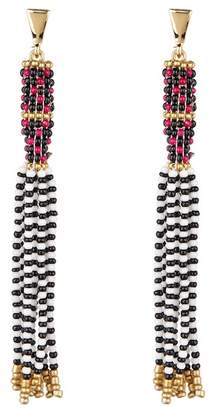 Rebecca Minkoff Dramatic Beaded Earrings