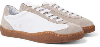 Acne Studios Lars Suede And Leather Sneakers